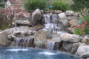 Rock Waterfall for pools